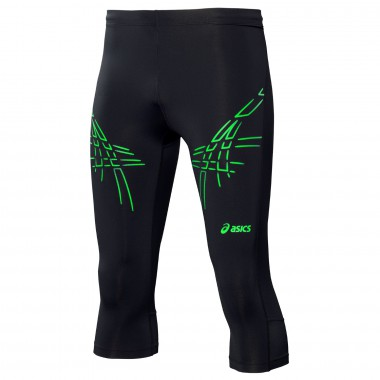 Тайтсы для бега 3/4 Asics STRIPE  KNEE  TIGHT
