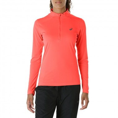 Футболка для бега Asics Ls 1/2 Zip Top (Women)