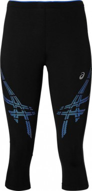 Тайтсы для бега 3/4 Asics Stripe Knee Tights (Women)