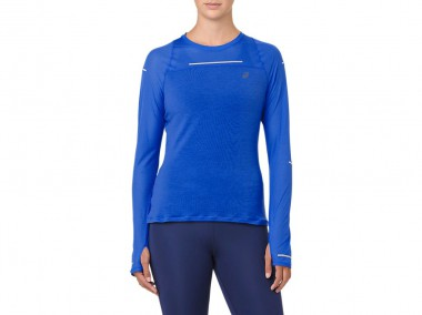 Футболка для бега Asics длинный рукав LITE-SHOW LONG SLEEVE (W)