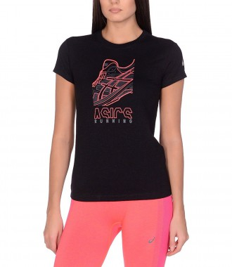 Футболка спортивная Asics Running Graphic Tee (W)
