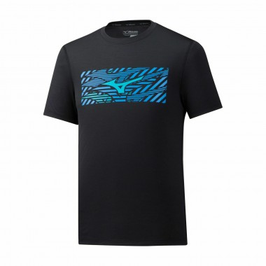 Футболка для бега Mizuno Impulse Core Wild Bird Tee