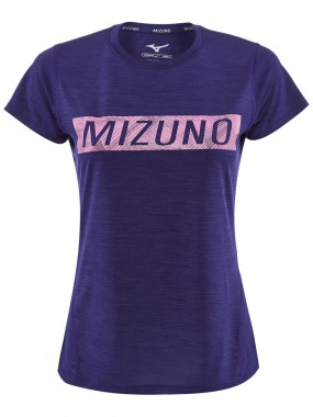 Футболка для бега Mizuno Impulse Core Graphic Tee  W