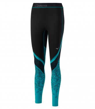 Тайтсы для бега Mizuno Impulse Printed Long Tight (W)