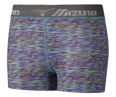 Тайтсы для бега кор. Mizuno Impulse Printed Short Tight (Women)